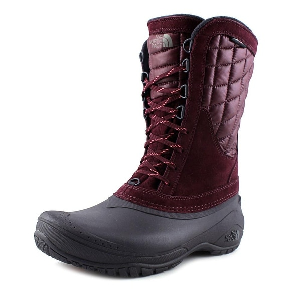The North Face Thermoball Utility Mid Round Toe Leather Winter Boot