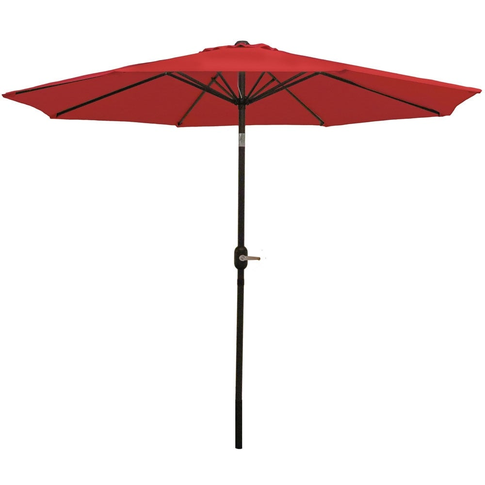 Sunnydaze Aluminum 9 Foot Patio Umbrella with Tilt & Crank - Thumbnail 16