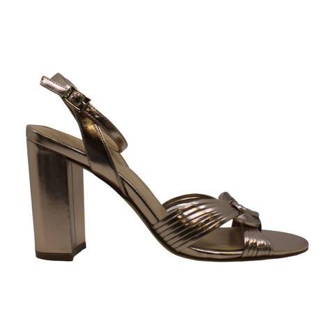 BADGLEY MISCHKA Womens krystal Open Toe Formal Ankle Strap Sandals