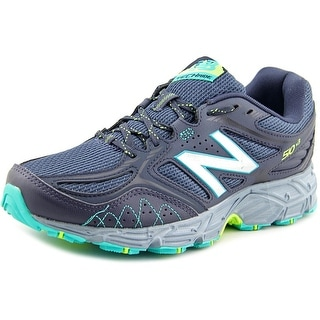 New Balance WT510 Women Round Toe Synthetic Gray Trail Running