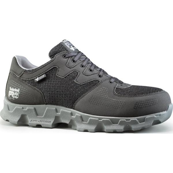 Aplicado Escarpado Iniciativa  Timberland PRO Powertrain Alloy Toe Static-Dissipative Work Athletic Shoe -  Overstock - 27417045