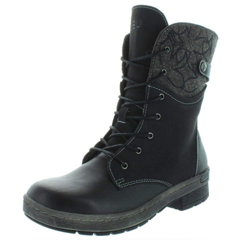 JBU Womens Hemlock Almond Toe Mid-Calf Fashion Boots