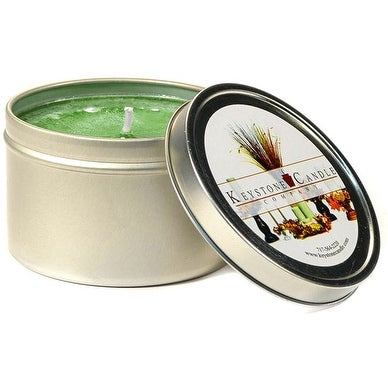 1 Pc Tin Candles Bayberry Candle Tins 8 oz 3 in. diameter x 3 in. tall