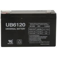 Upg 85992/D5736 Sealed Lead Acid Batteries (6V; 12Ah; .187 Tab Terminals; Ub6120)