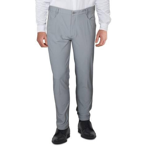Walter Hagen Mens Dress Pants Slim Fit Hyro