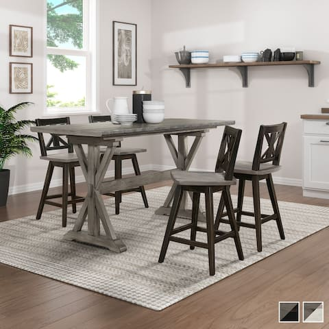 Roux 5-Piece Counter Height Dining Set