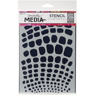 "Dina Wakley Media Stencils 9""X6""-Scales"