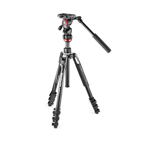 """Manfrotto Befree Travel Fluid Drag System Professional Video Tripod - 15.75"""""""