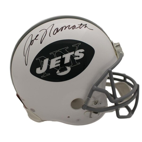 3b838ffa820 Shop Joe Namath Autographed New York Jets Proline Helmet JSA - Free  Shipping Today - Overstock.com - 22390139