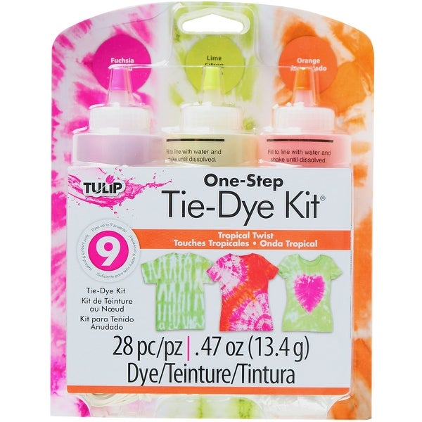 Tulip One-Step Tie-Dye Kit-Tropical Twist
