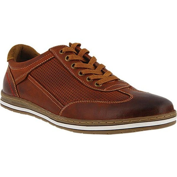 e43174522fa7d Shop Spring Step Men's Dublin Sneaker Mahogany Leather - On Sale ...