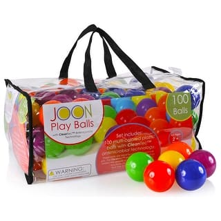 JOON CleanTec Antimicrobial Kids Fun Play Balls, Multi-Colored, 100 Balls|https://ak1.ostkcdn.com/images/products/is/images/direct/39270db9a52e668efd280a9f895aa7e0b9a0ab4e/JOON-CleanTec-Antimicrobial-Kids-Fun-Play-Balls%2C-Multi-Colored%2C-100-Balls.jpg?impolicy=medium