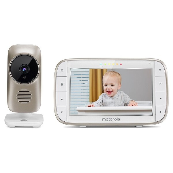 "Motorola MBP845Connect Video Baby Monitor with Wi-Fi, 5"" Color Screen"