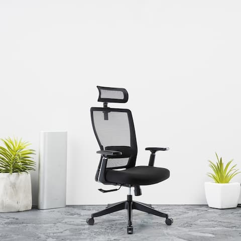Moda H3018-B High Back Office Luxury Ergonomic Executive Chair - 26*28*45-52 inches