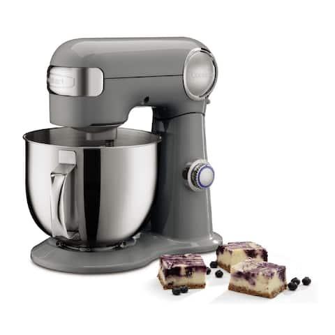 Cuisinart Precision Master 5.5-Quart Stand Mixer (Dove Gray)