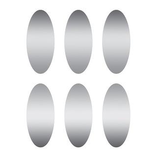 Scratch Off Stickers Ovals