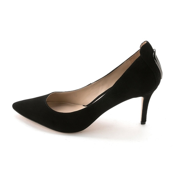 Carolinna Espinosa Womens Lenore Leather Pointed Toe Classic Pumps - 10