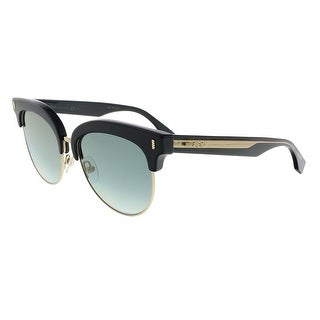 Fendi FF0154/S 0VJG Black Cateye Sunglasses - 54-17-140