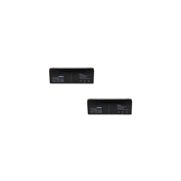 Replacement AGM SLA Battery 12V-2.3Ah 2-Pack Replacement AGM SLA Battery