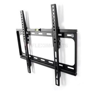 """FLEXIMOUNTS Tilt TV Wall Mount Bracket for most 26""""-55"""" Max 400x400mm for Flat Screen"""