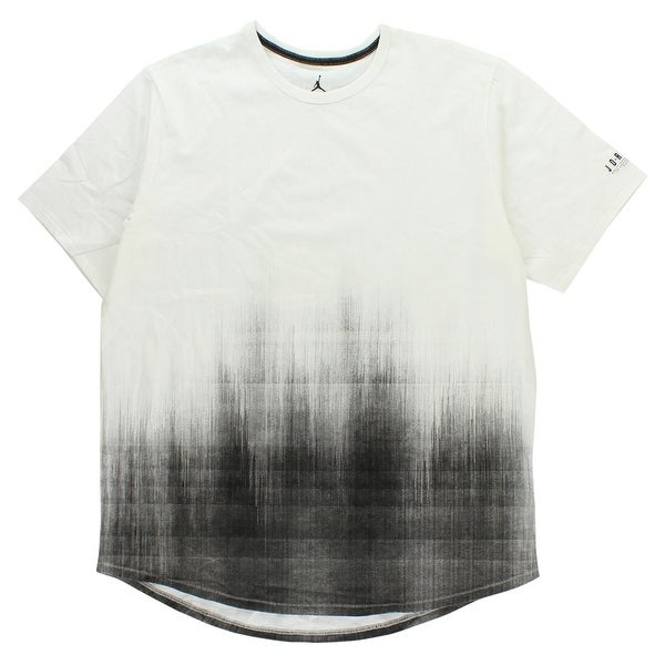 c22967a341675c Shop Jordan Mens 23 True Scorch T Shirt White - WHITE BLACK - XxL - Free  Shipping On Orders Over  45 - Overstock.com - 22723909