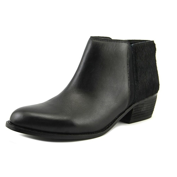 Dune London Penelope Women Pointed Toe Leather Black Bootie