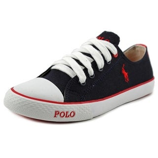 Polo Ralph Lauren Carson II EZ Round Toe Canvas Sneakers