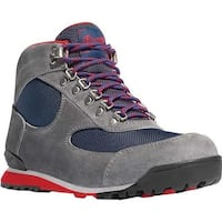 "Danner Women's Jag 4.5"" Hiking Boot Steel Grey/Blue Wing Suede"