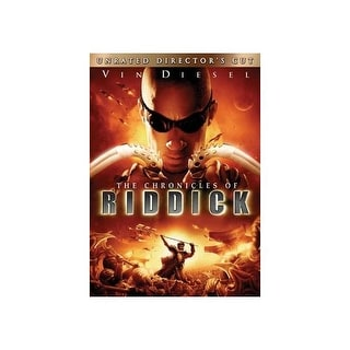 CHRONICLES OF RIDDICK (DVD) (WS/UNRATED DIRECTORS CUT
