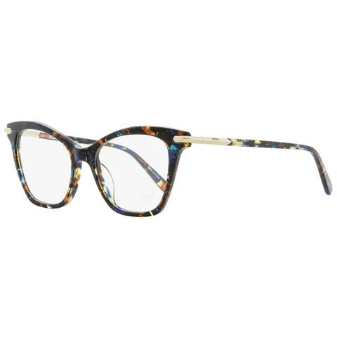 MCM MCM2661 235 Womens Blue Havana 52 mm Eyeglasses - Blue Havana