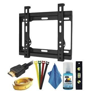 "Xtreme XT-18714 7Pc Ultra Slim Fixed TV Wall Mount Kit (23"" - 42"")"