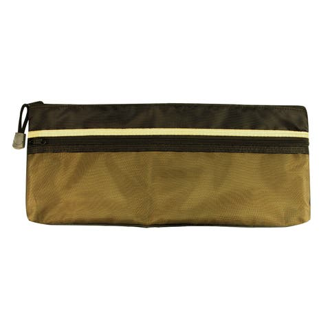 Alvin ebdz513 5 x 13 dual zippered pocket fabric mesh bag
