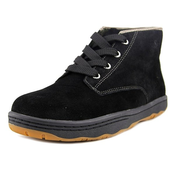 Simple Barney 91L Men Round Toe Suede Boot