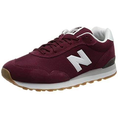 New Balance Men's 515 V3 Sneaker, Garnet/Nb White