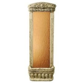"""Watergarden Fountain with Bronze Mirror, 48""""H x 16""""W x 8""""D"""