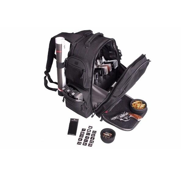 G.P.S. The Executive Backpack-Black GPS-1812BPB