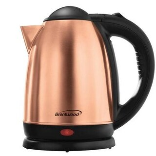 Brentwood Kt-1790Rg 1.7L Stainless Steel Cordless Electric Kettle - Rose Gold