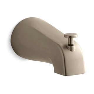 Kohler K-389 Classic 4-7/16 Inch Diverter Bath Spout with NPT Connection