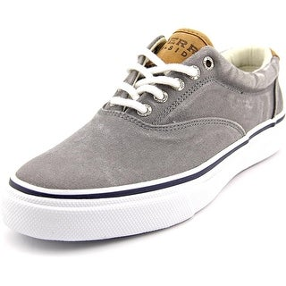 Sperry Top Sider Striper LL Cvo Men Canvas Gray Fashion Sneakers