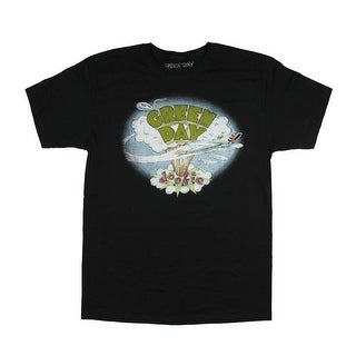 Green Day Shirt Men's Distressed Graphic Dookie Design T-Shirt