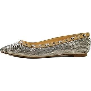 INC International Concepts Womens ZABBIE2 Pointed Toe Ballet Flats