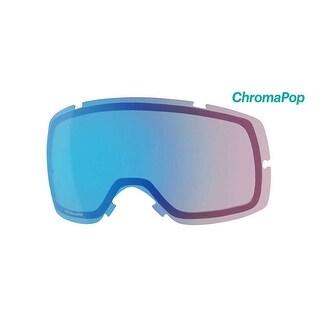 Smith Optics Vice Ski Goggle - Replacement Lens - ChromaPop Storm Rose Flash - VC6CPC2