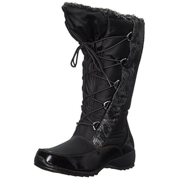Sporto Womens Tina Snow Boots Metallic Waterproof