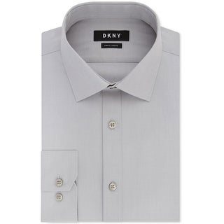 Dkny Mens Performance Button Up Dress Shirt