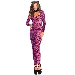Leg Avenue Pretty Pink Pussycat Adult Costume