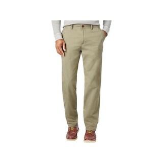 Weatherproof Mens Marsden Casual Pants Pleated Flat Front