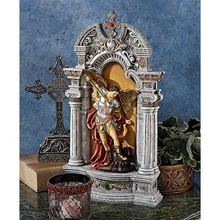 Design Toscano The Niche of St. Michael the Archangel Statue