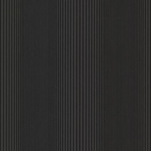 Brewster HZN43042 Alpha Black Ombre Stripe Wallpaper - N/A