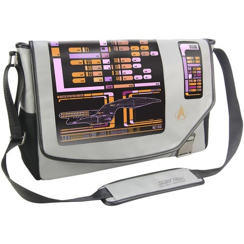 "Star Trek: The Next Generation LCARS 15"" Messenger Bag - Multi"