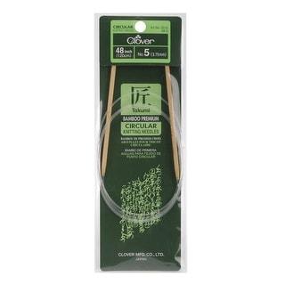 "Takumi Bamboo Circular Knitting Needles 48""-Size 5/3.75mm"